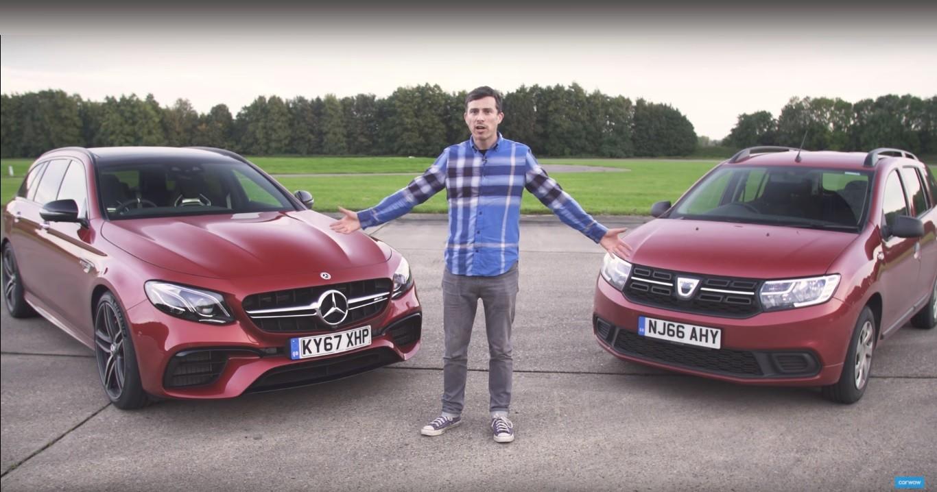 (Ne)moguća usporedba: Mercedes-AMG E 63 S vs Dacia Logan