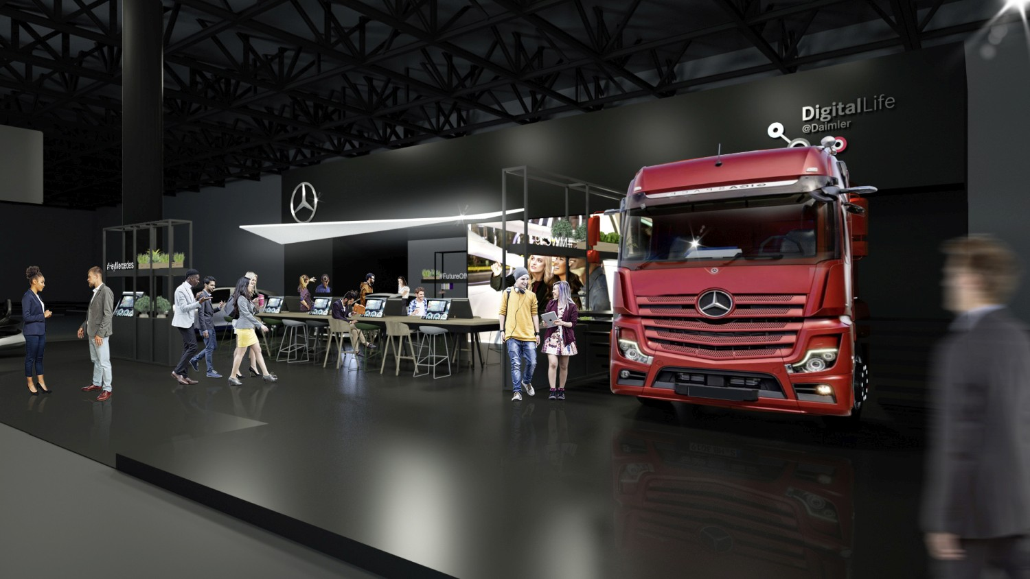 Mercedes-Benz na Mobile World Congressu 2019