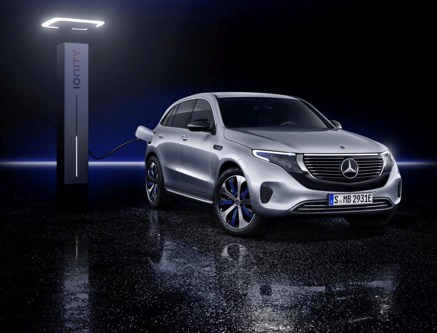 Novi električni Mercedes-Benz EQC s autonomijom od 450 kilometara