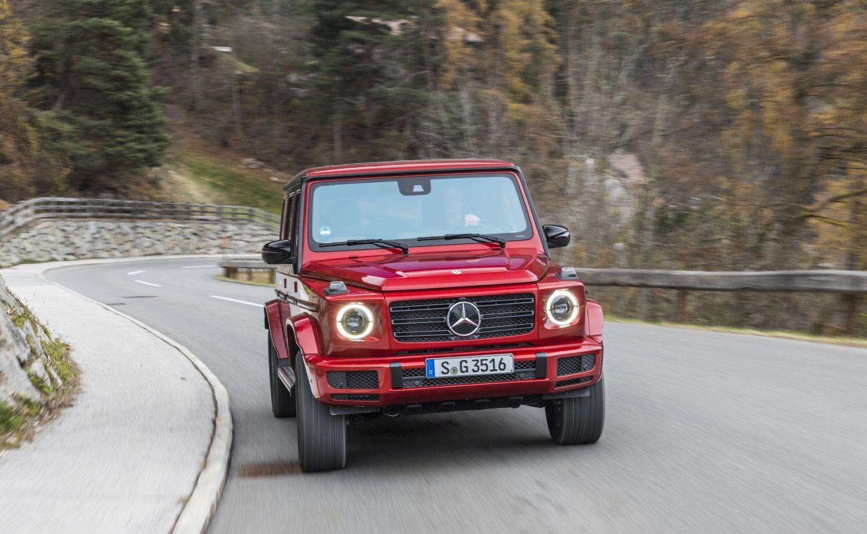 Novi Mercedes-Benz G 350 d