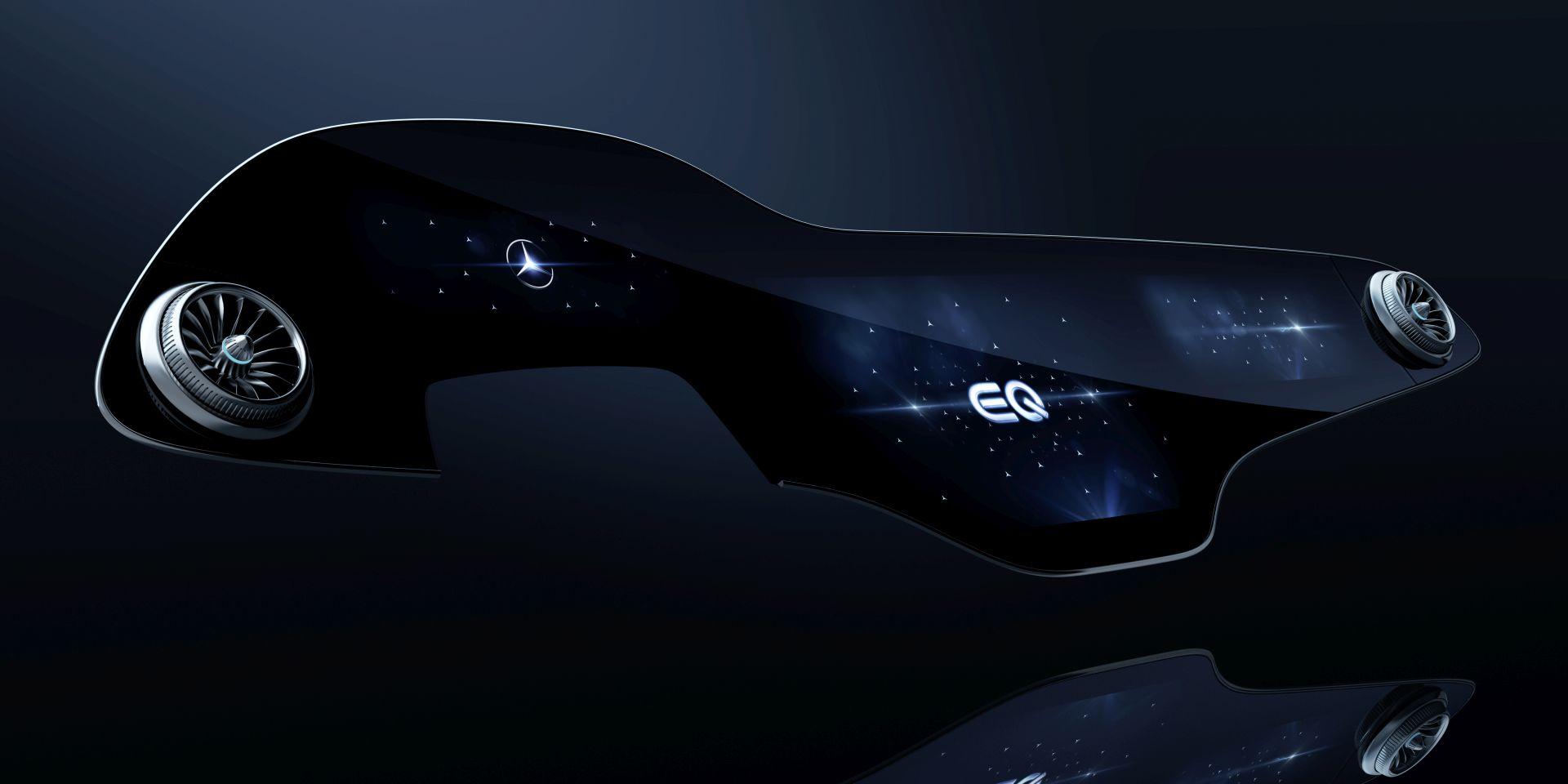 Mercedes-Benz je za novi električni EQS pripremio MBUX Hyperscreen