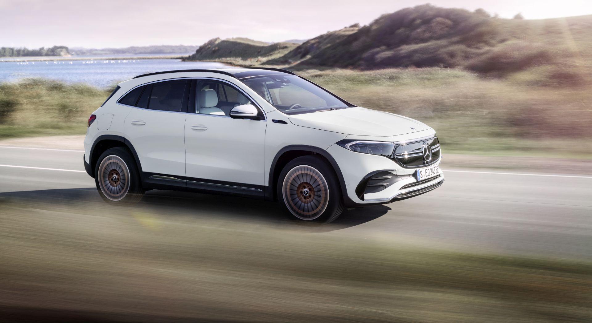 Je li svježe predstavljeni električni Mercedes EQA buduća tržišna zvijezda?
