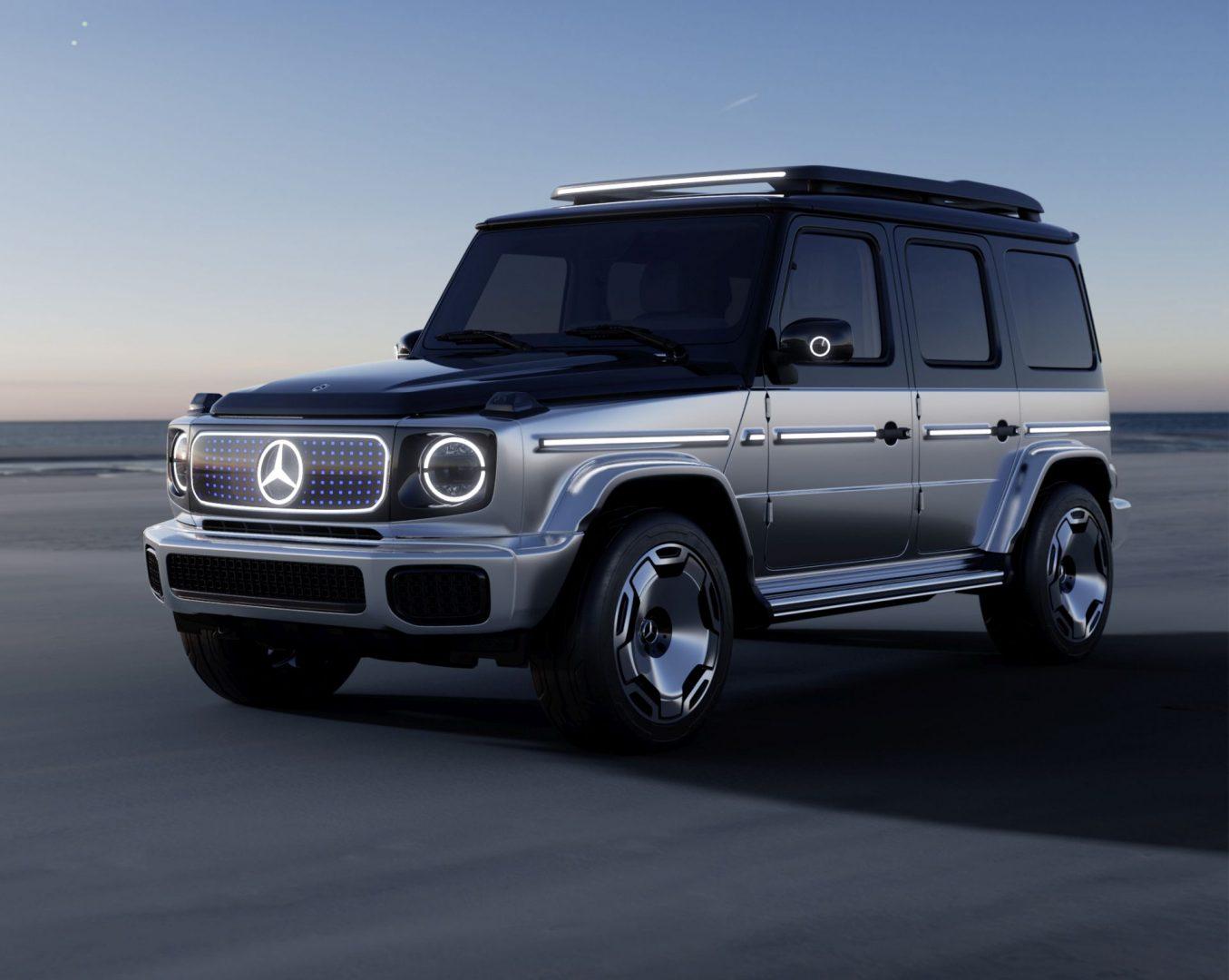 Mercedes elektrificira i kultnu G-klasu, a najavljuje je konceptom EQG