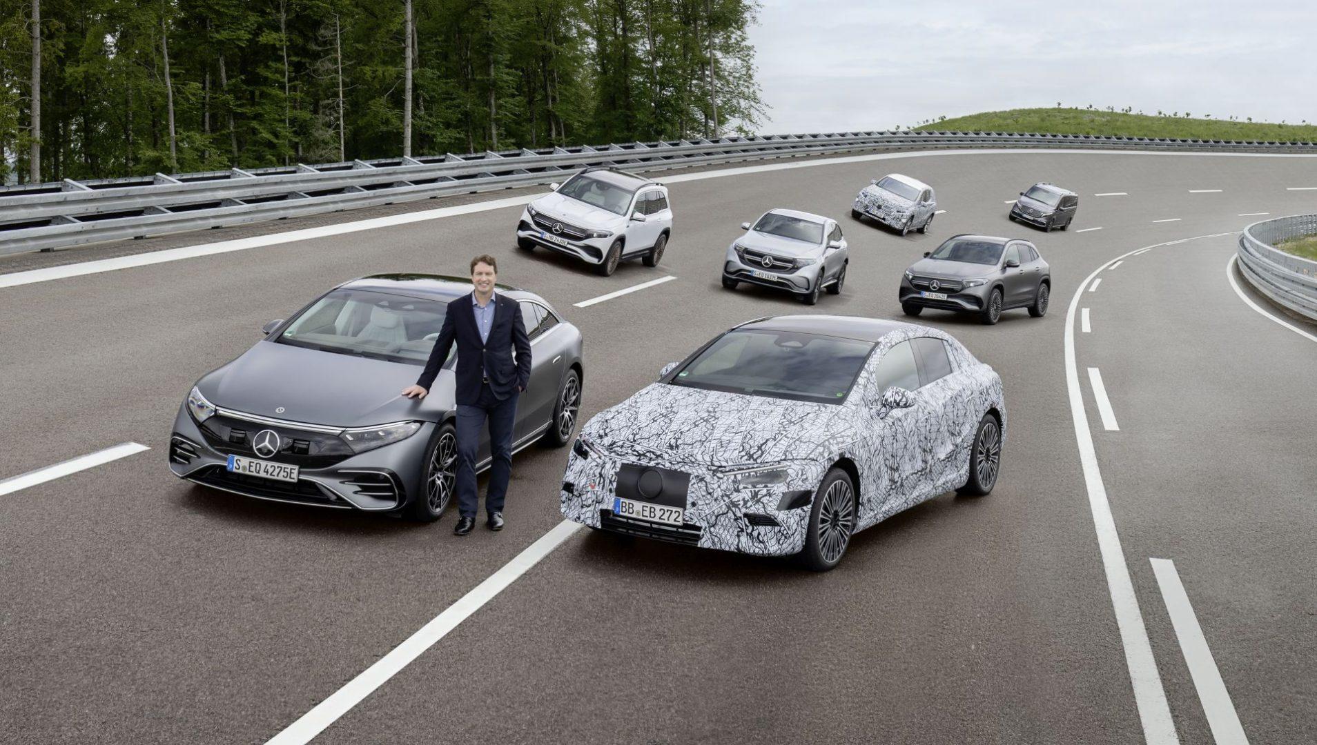 Mercedes se priprema za potpuni prelazak na struju – najavljene tri nove platforme za električna vozila