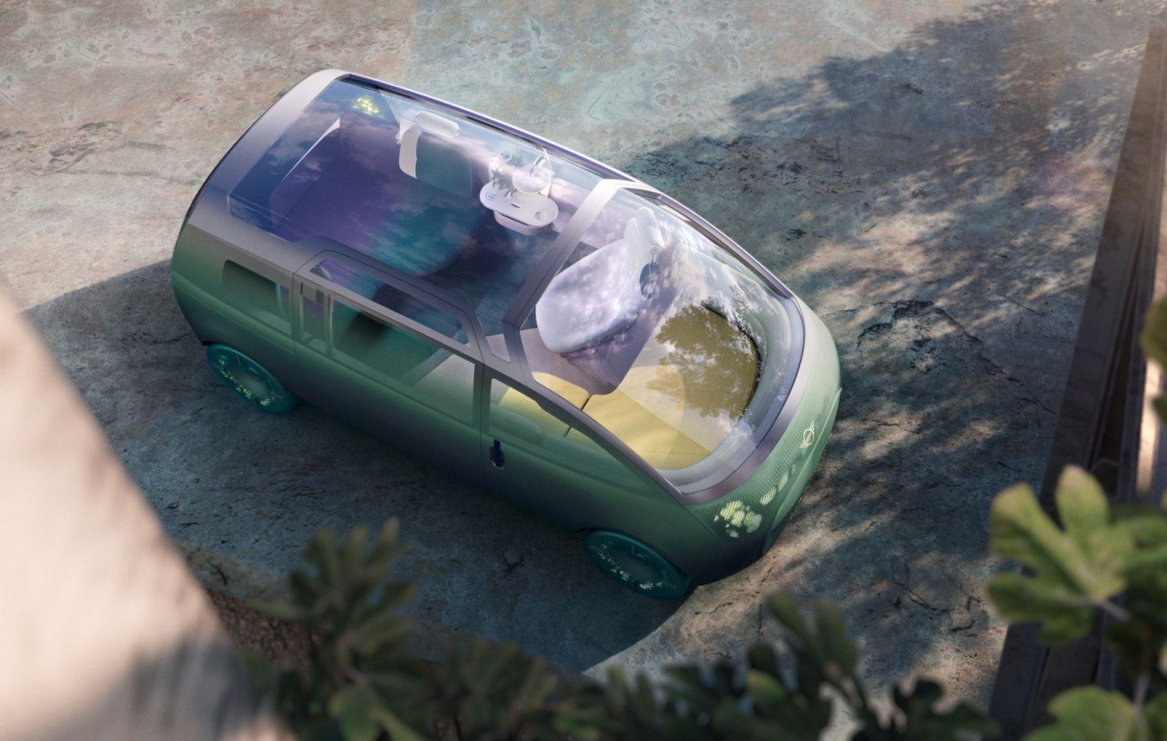 Mini Vision Urbanaut koncept prikazuje kako Mini vidi budućnost svojih modela