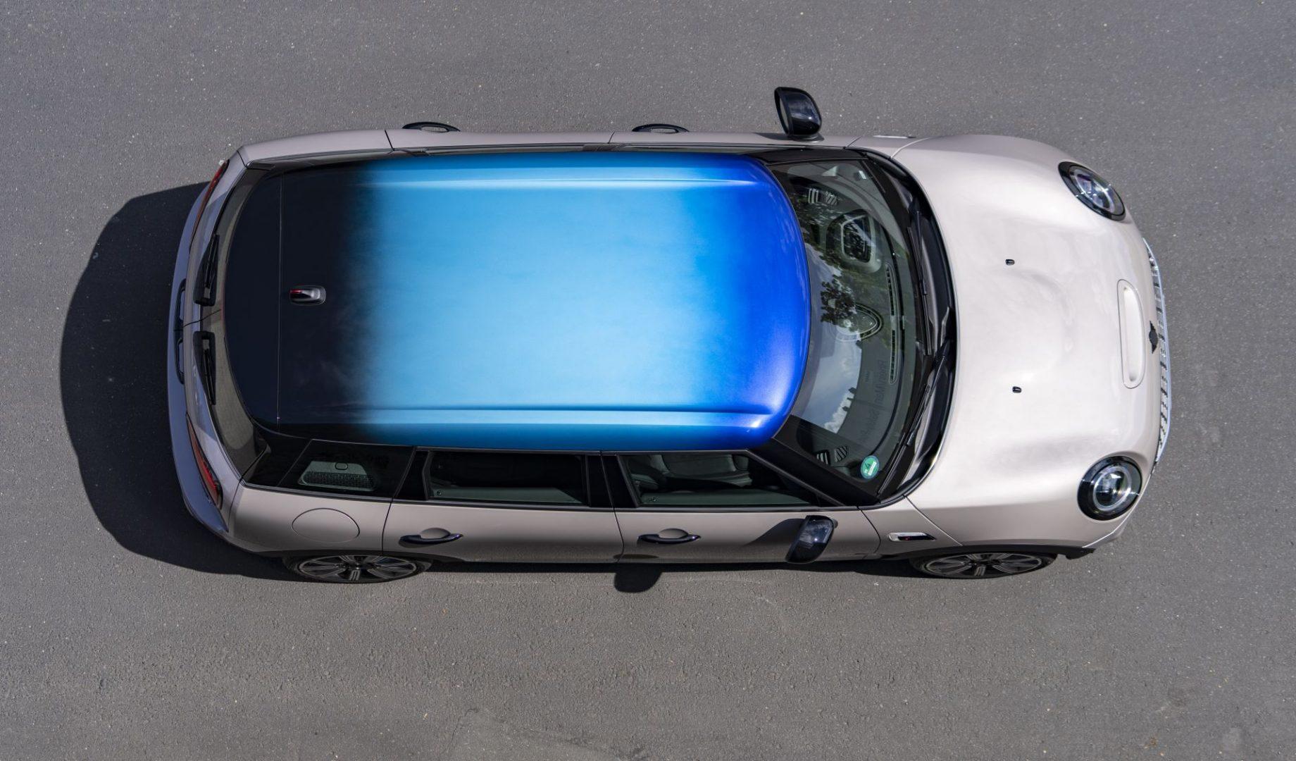 Mini je predstavio Multitone krov u tri nijanse boja