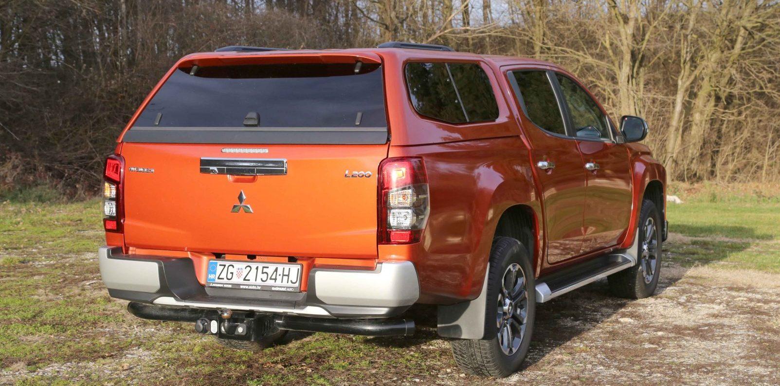 Mitsubishi L200 ima utovarni prag od 850 mm
