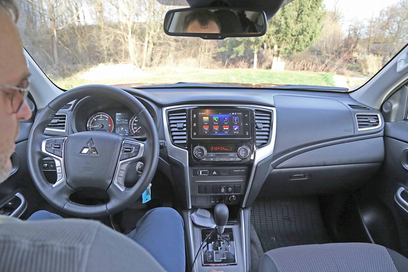 Naš testni model Mitsubishija L200 bio je opremljen 6-stupanjskim automatskim mjenjačem