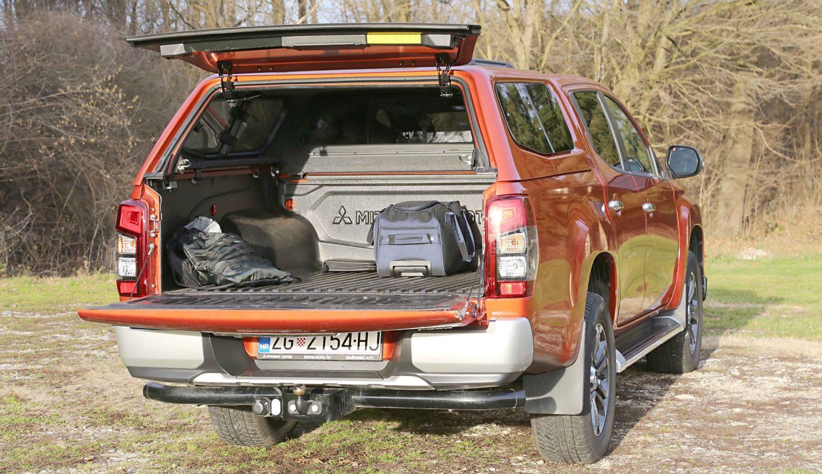 Nosivost Mitsubishi L200 iznosi 1.065 kg