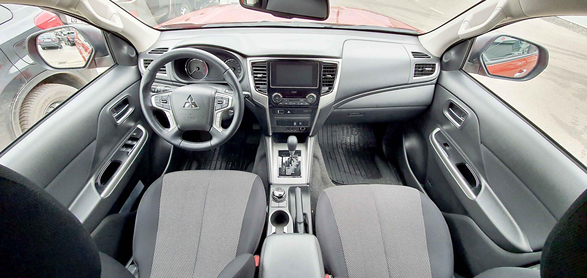 Unutrašnjost novog Mitsubishija L200 je puno udobnija