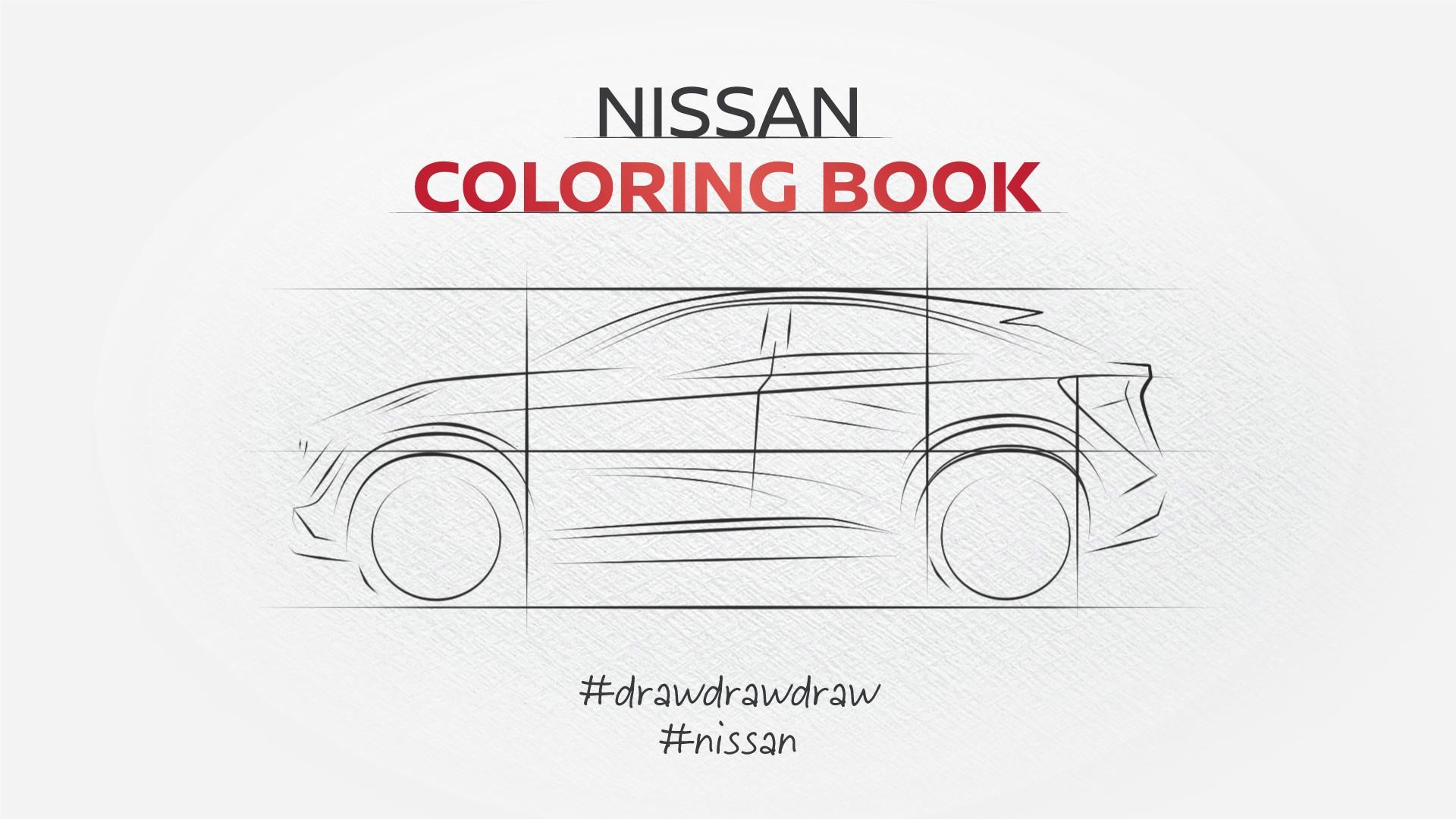 Uz bojanje Nissan bojanki pridružite se projektu #DrawDrawDraw