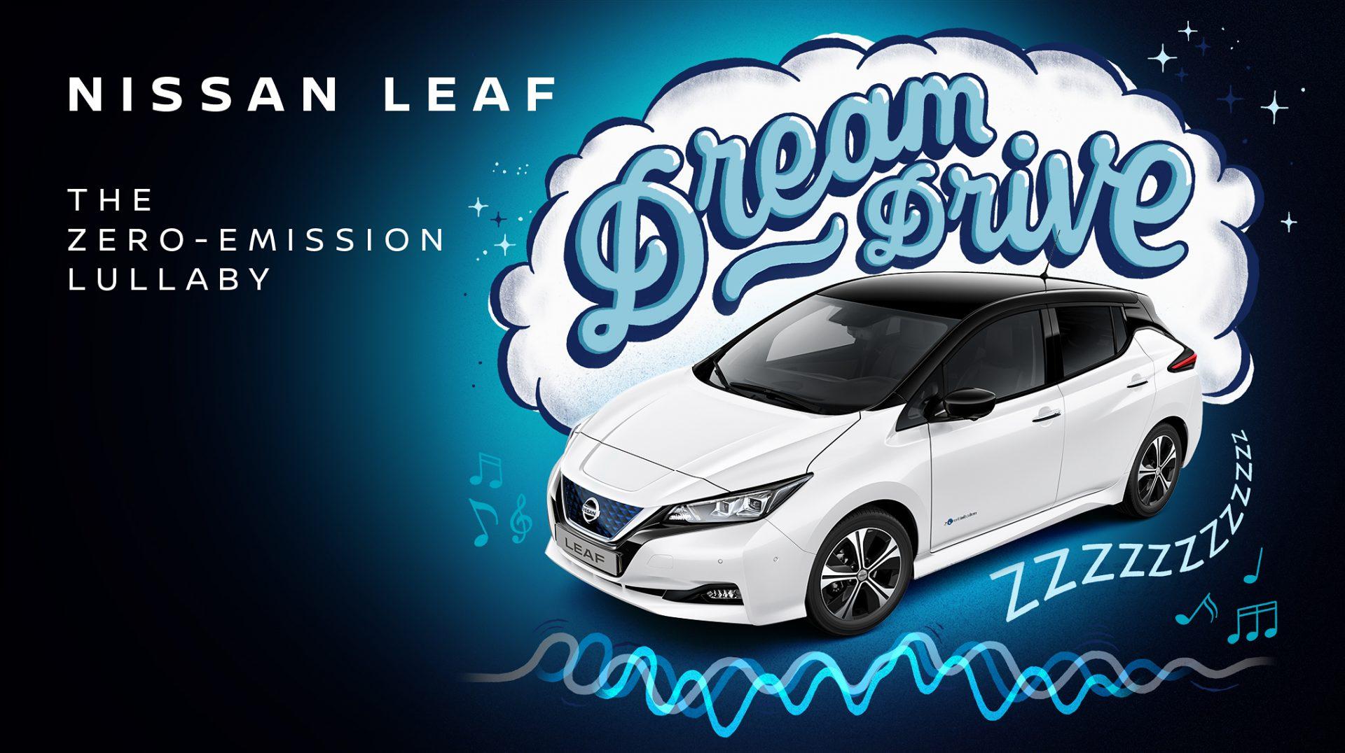 Ušuškajte vaše najmlađe uz Nissan Leaf Dream Drive