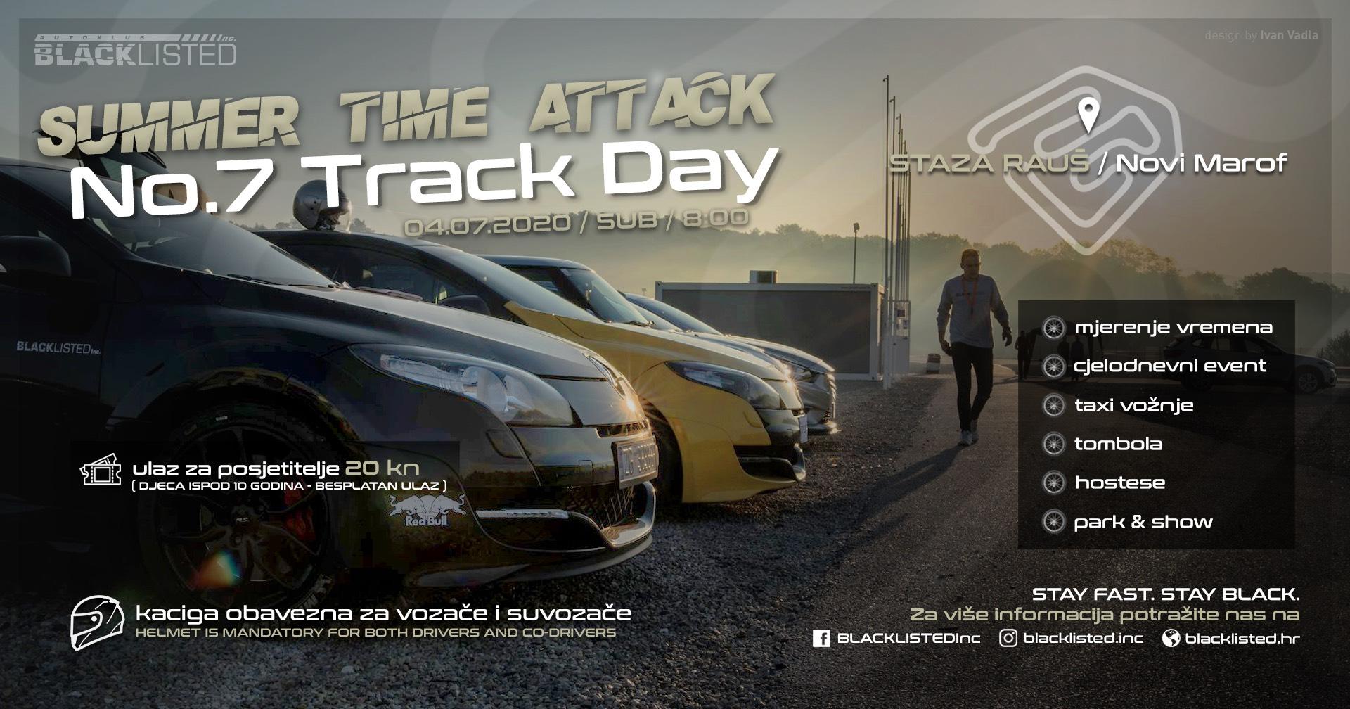 No. 7 track day letak