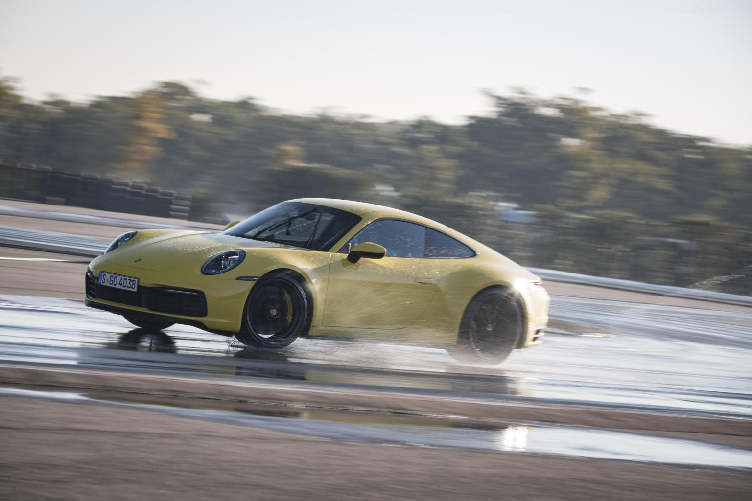 Kako funkcionira Porsche Wet Mode