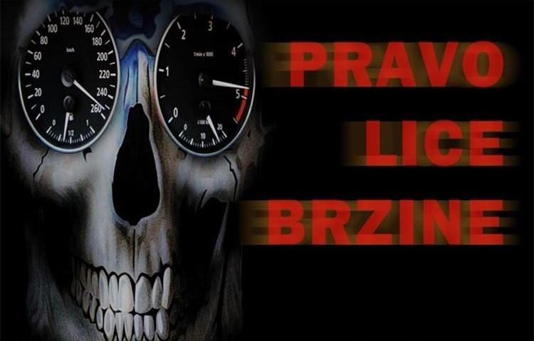 Tri smrtno stradale osobe upozorenje su na preveliku brzinu vožnje