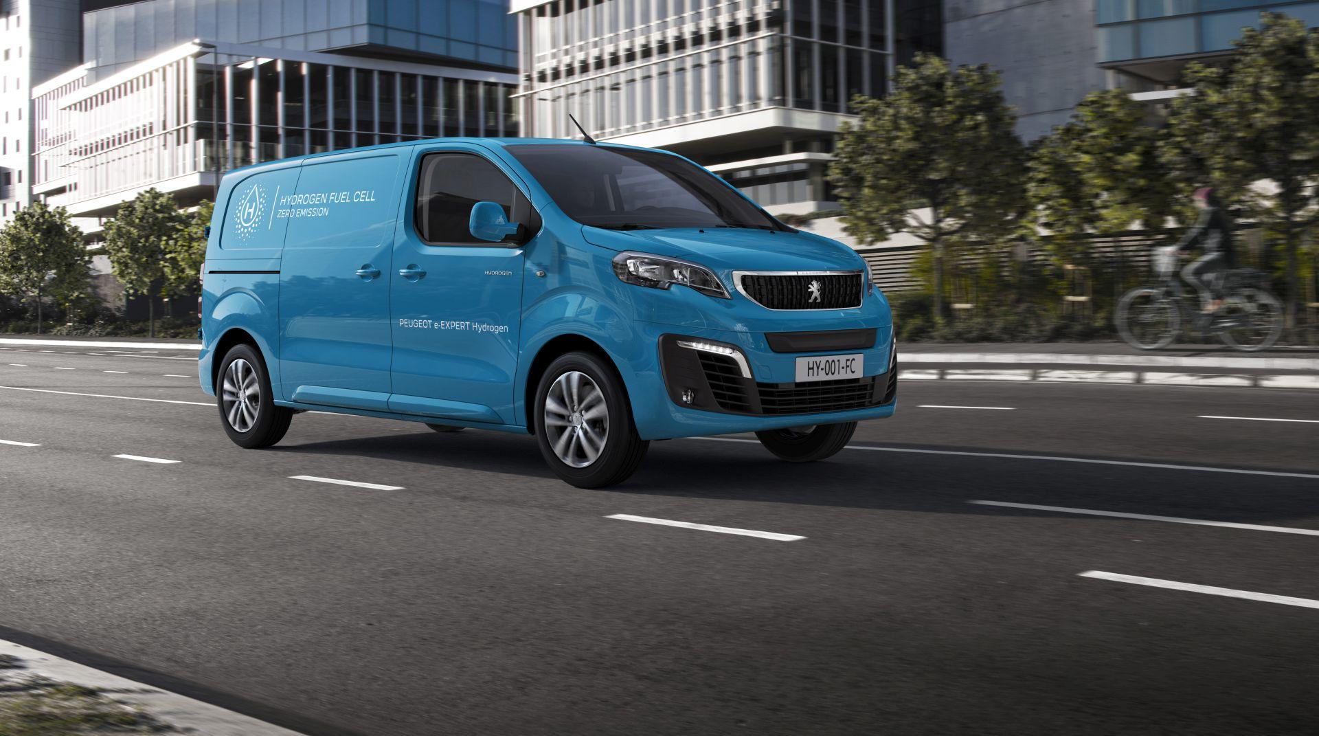 Predstavljen Peugeot e-Expert Hydrogen, električni model koji pokreću vodikove gorivne ćelije
