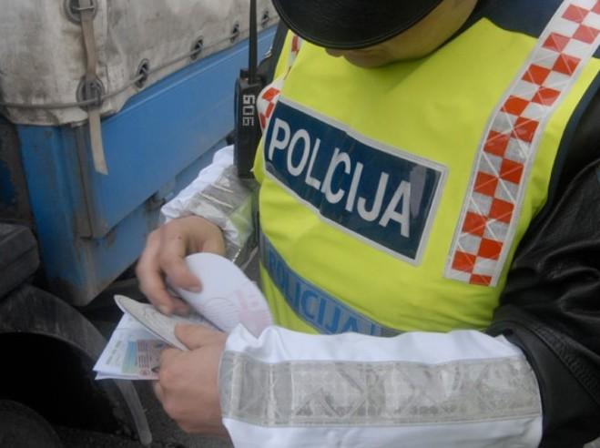 5.012 prekršaja tijekom pojačane kontrole prometa za vikend