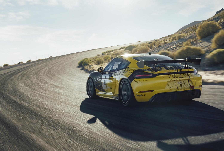 Novi Porsche 718 Cayman GT4 Clubsport