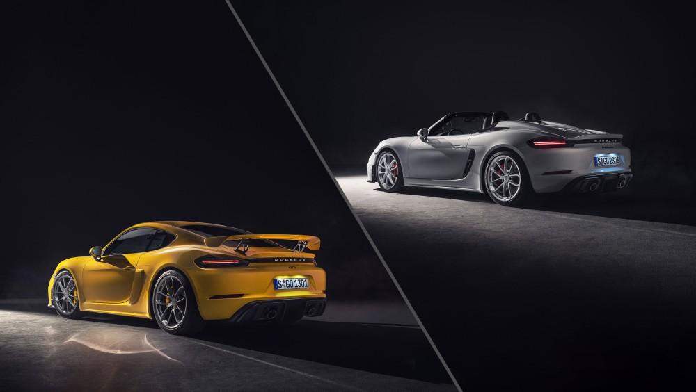 Porsche 718 Spyder i 718 Cayman GT4 su željni zavoja
