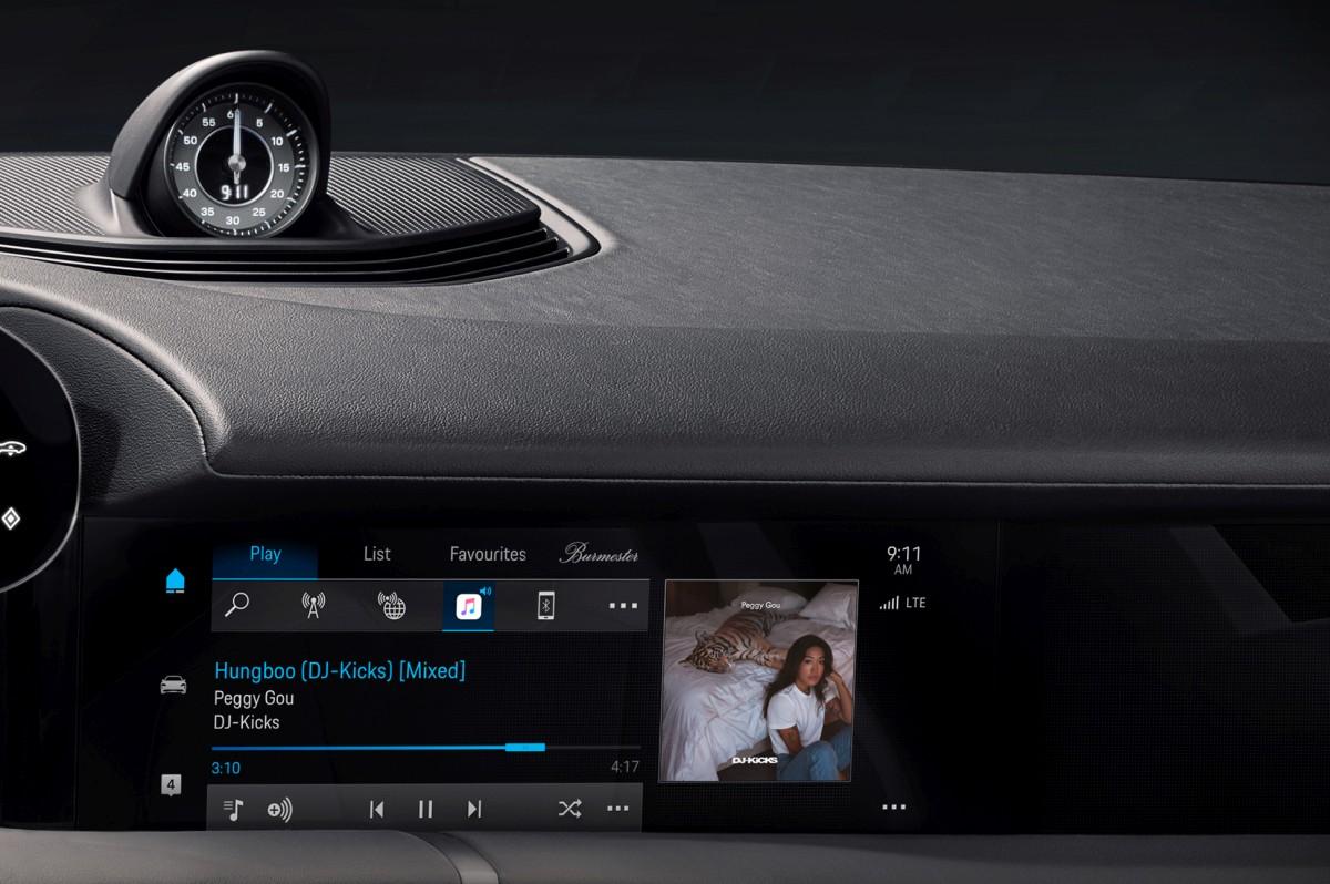 Potpuno novo: Apple Music u Porsche Taycanu