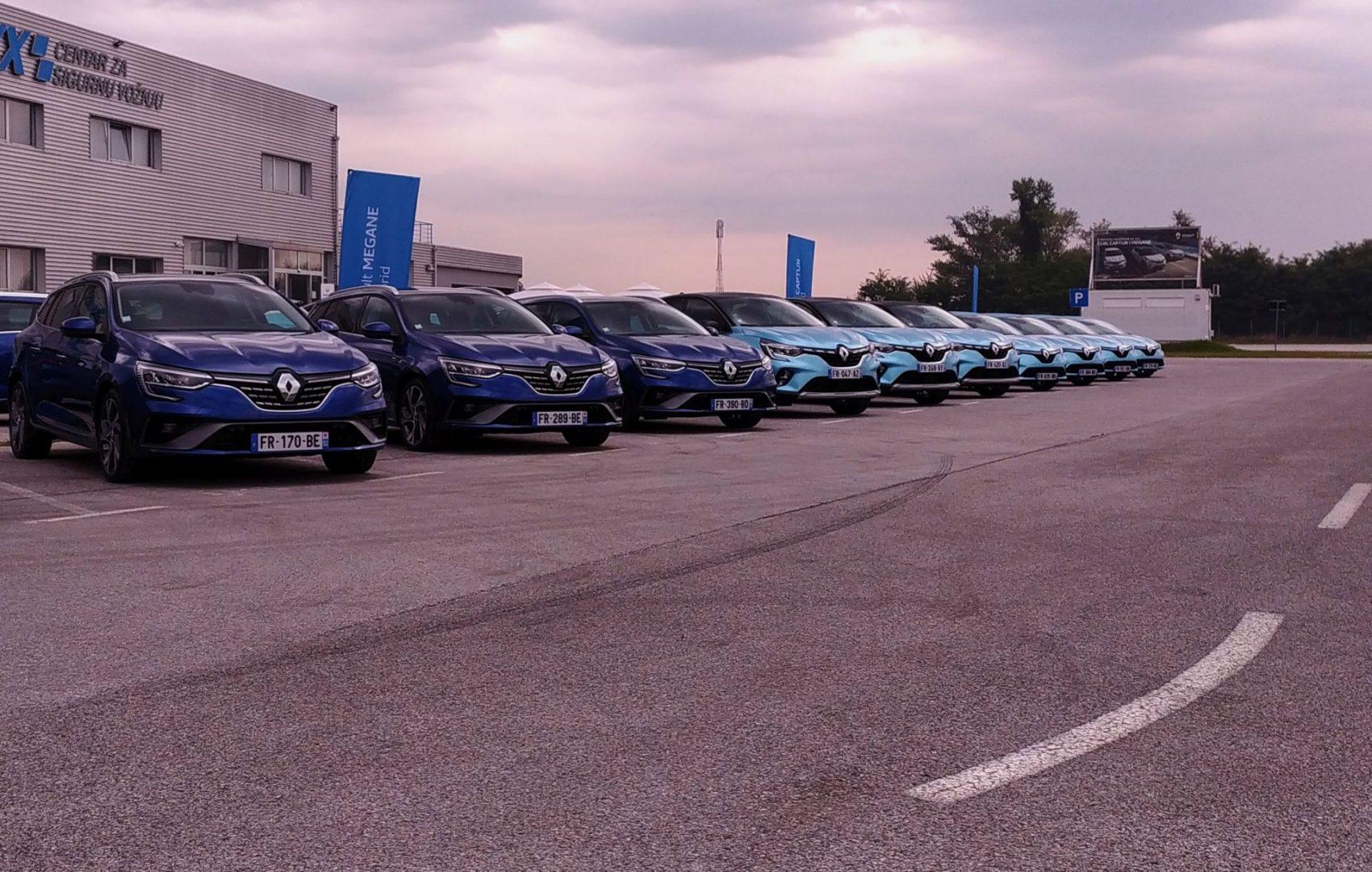 Renault E-Tech hibridi i plug-in hibridi – Clio, Captur i Megane – stigli u Hrvatsku
