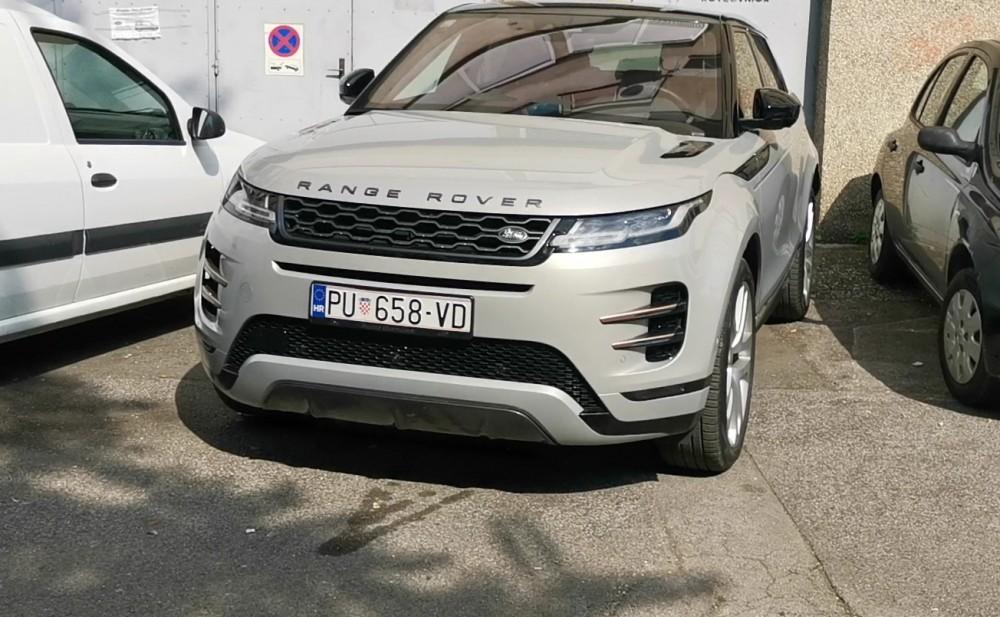 Pogledajte kako se Range Rover Evoque sam parkira