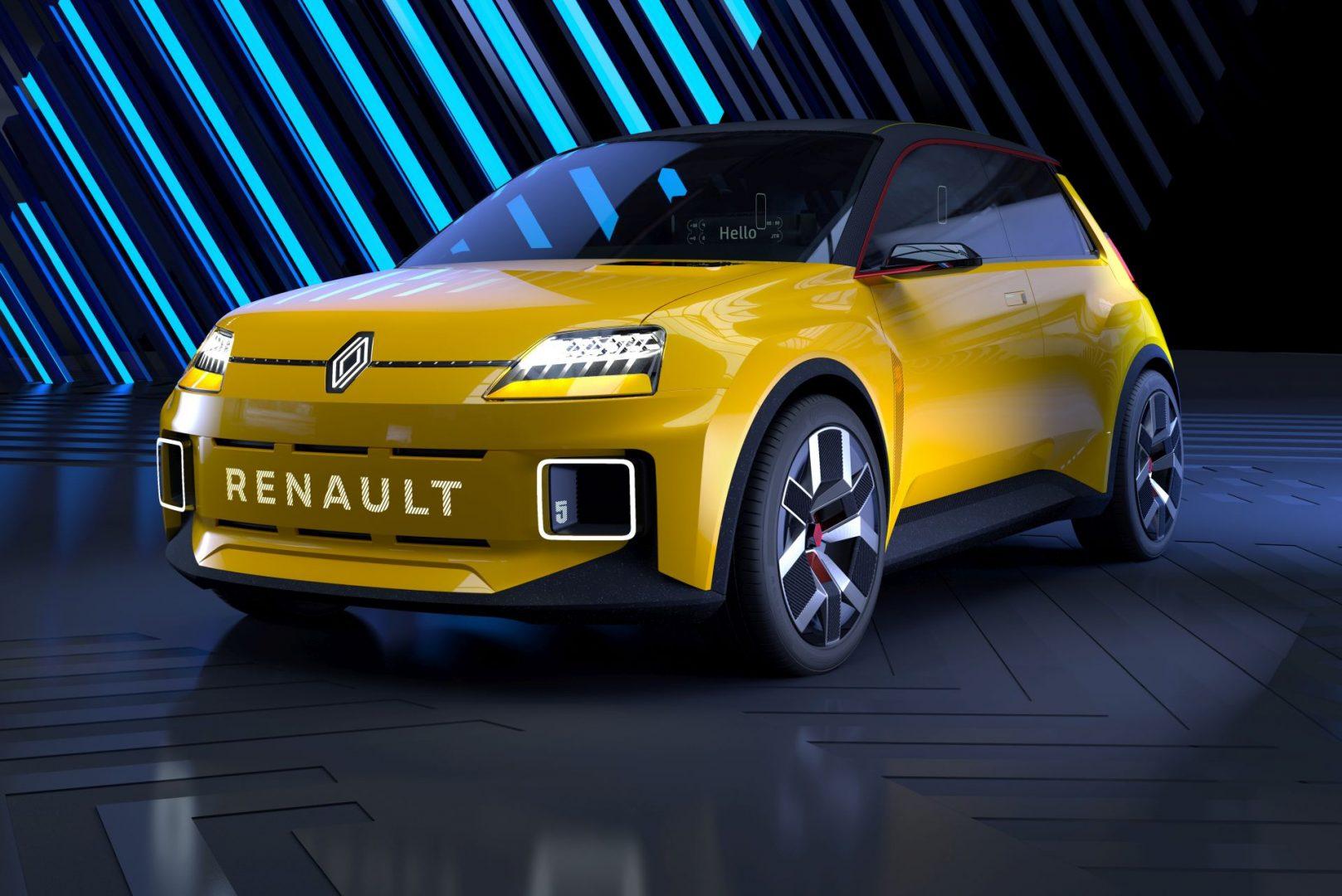 Legendarni Renault 5 kroz dvije godine dobiva nasljednika s električnim motorom