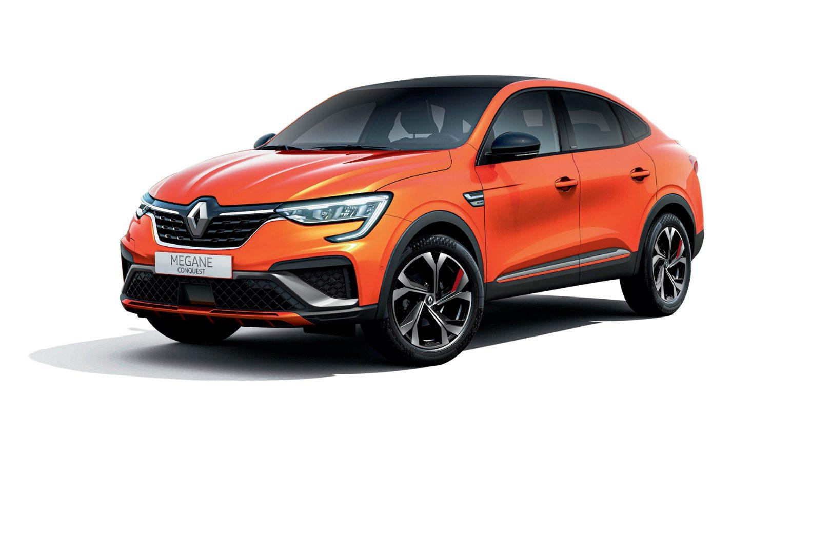 Hibridni coupe SUV iz Renaulta: Megane Conquest