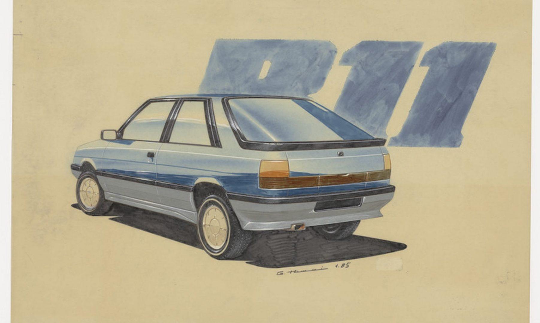 Što je sve Renault pronašao u svojim arhivima studija za dizajn