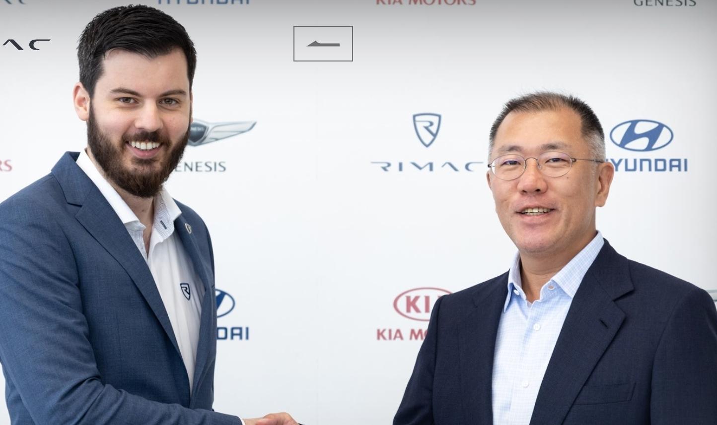 Hyundai i Kia ulažu 80 milijuna eura u Rimac Automobili