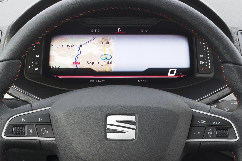 Seat u modele Arona i Ibiza uvodi digitalni kokpit