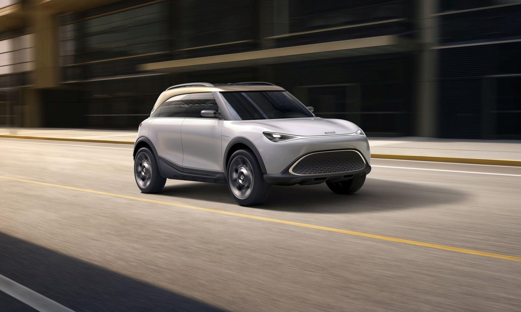 Smart Concept #1 najavljuje električni SUV koji stiže najkasnije početkom 2023. godine