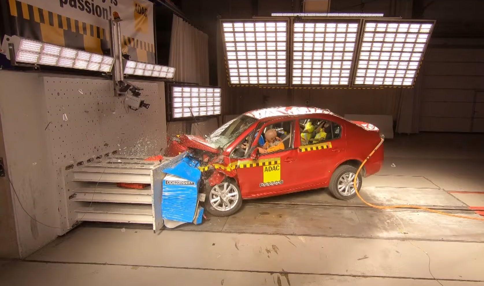 Ponovo potvrđeno: katastrofalan rezultat crash testa kineskog EV Suda SA01