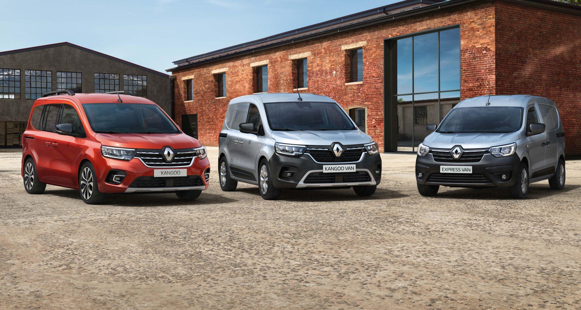 Na proljeće stižu novi Renault Kangoo i Express u nekoliko izvedbi