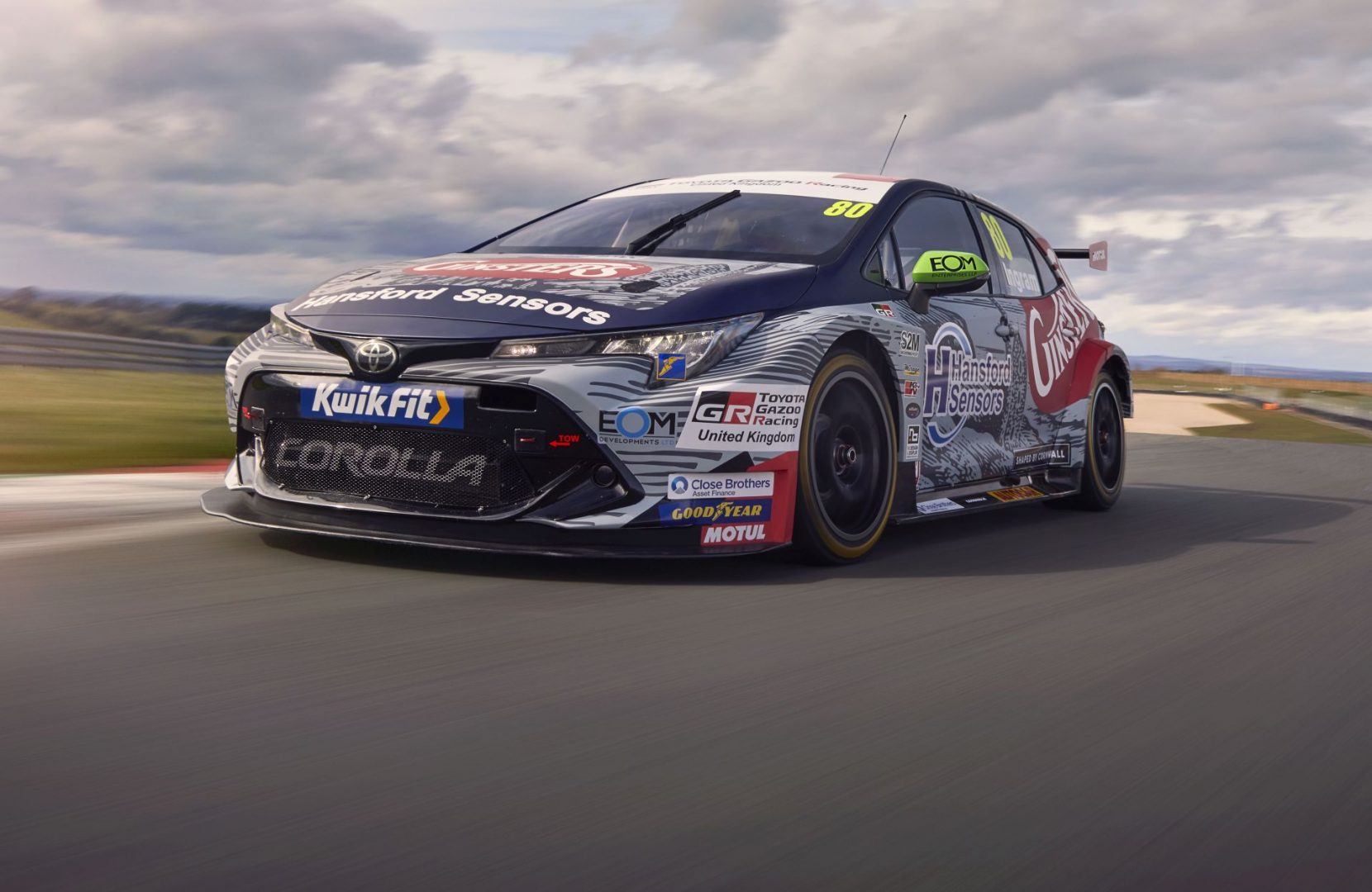 Toyota Gazoo Racing na Goodwood Speedweeku