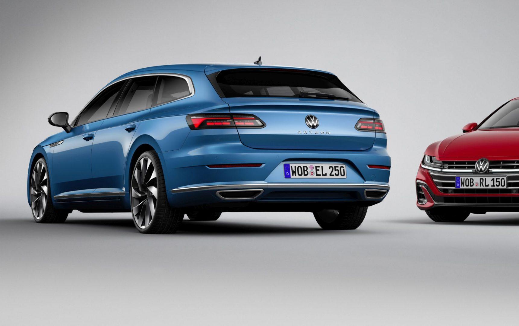 Predstavljen je Volkswagen Arteon Shooting Brake, Arteon plug-in hibrid i Arteon R