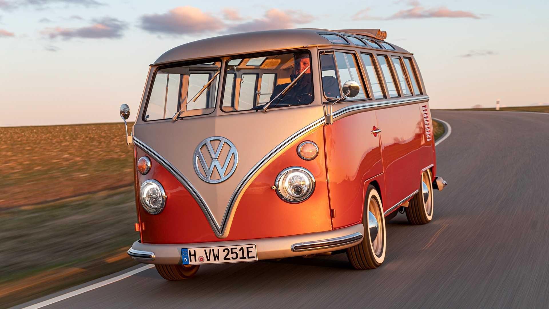 Povijest i budućnost u jednom: ovo je električni Volkswagen e-Bulli