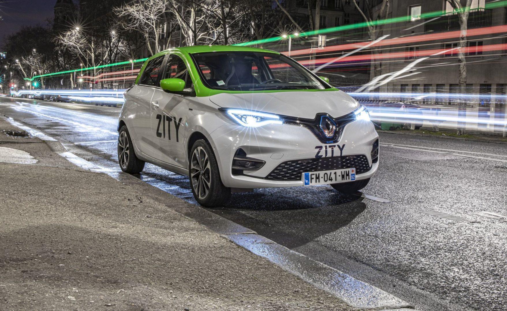 500 modela Renaulta ZOE spremno je za dijeljenje putem usluge ZITY