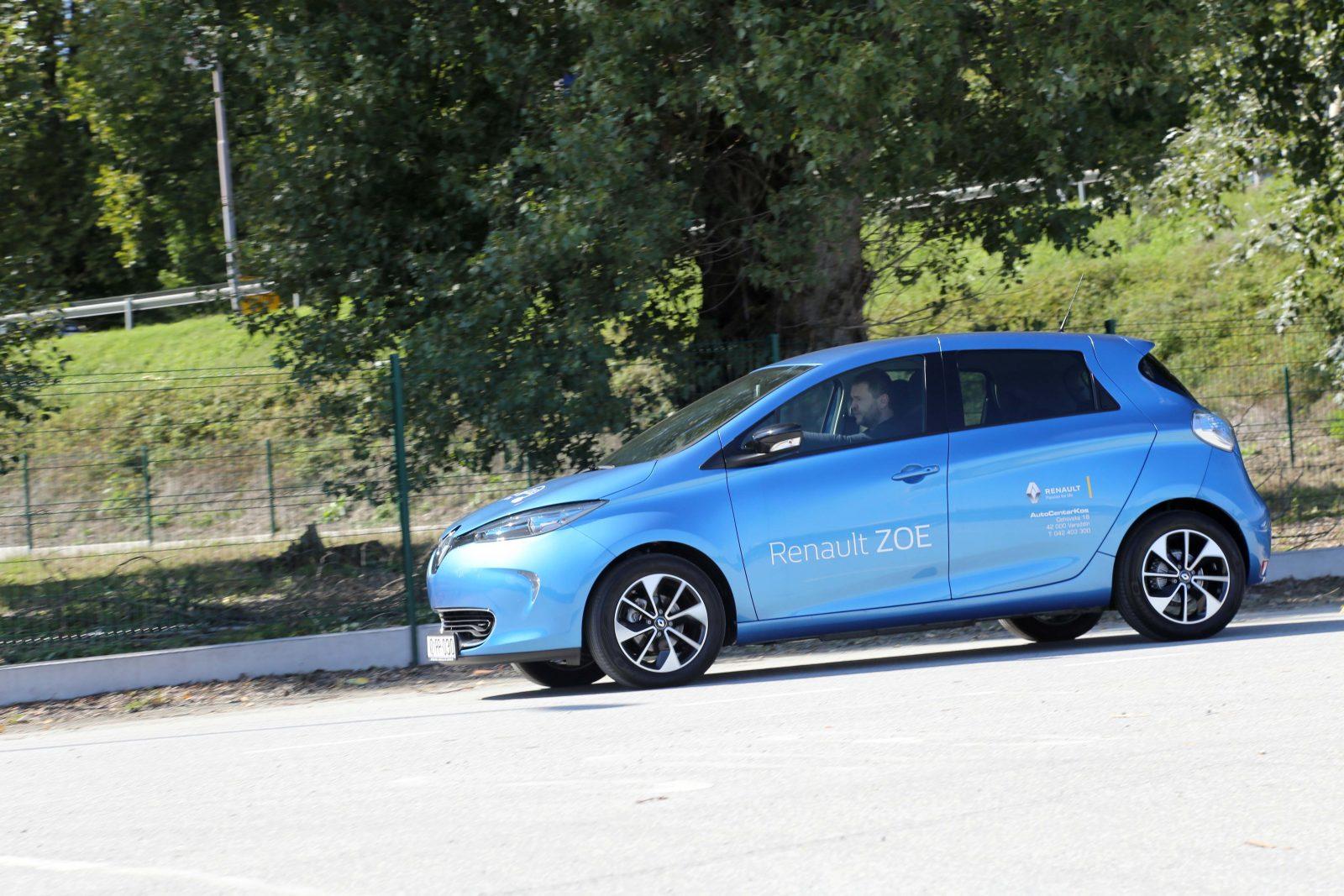 TEST Renault Zoe Intens R90 FP