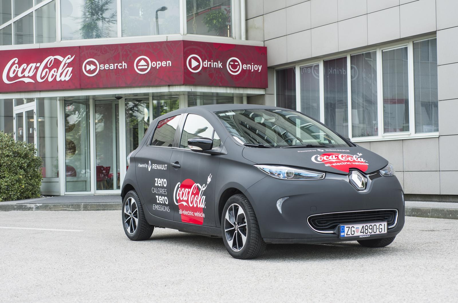 Zanimljiva suradnja Renaulta i Coca-Cole