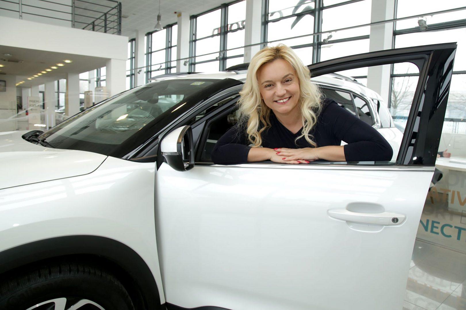 Službena marka vozila žena u poduzetništvu – članica Ženskog poduzetničkog centra je Citroën