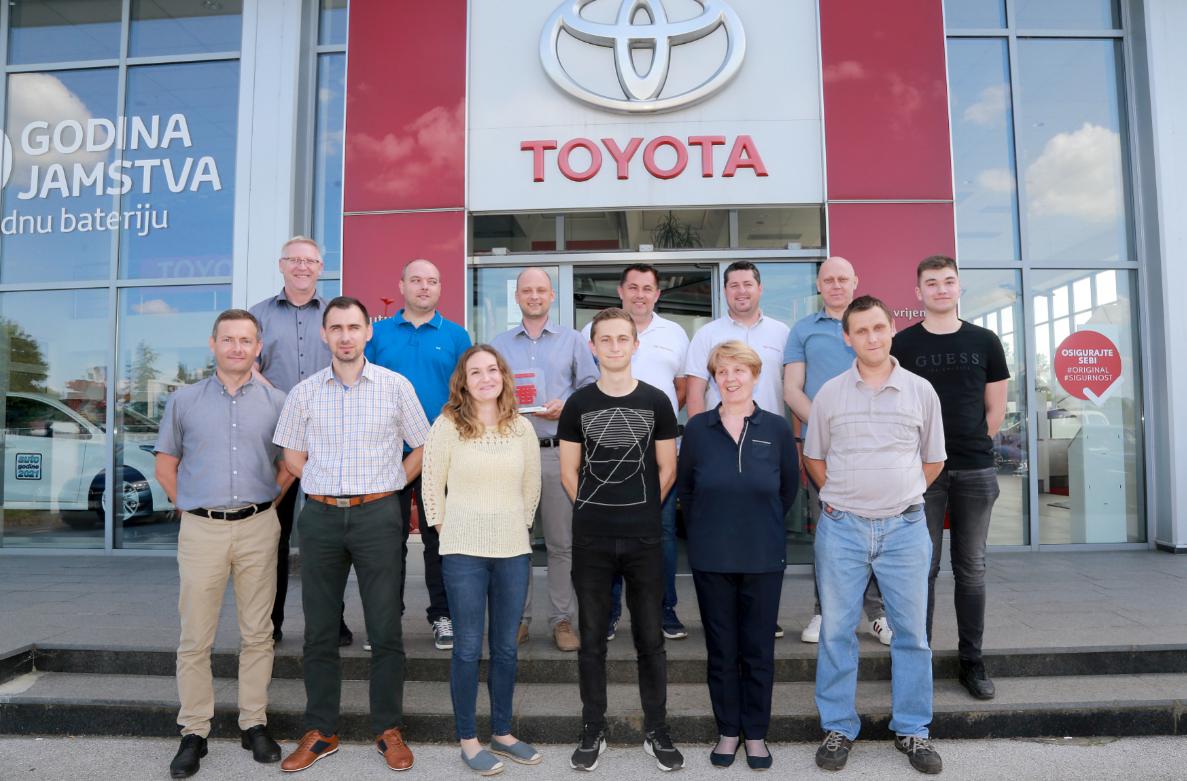 Toyota nagrađuje najbolje trgovce: Futura auto iz Varaždina jedan je od najboljih u Europi