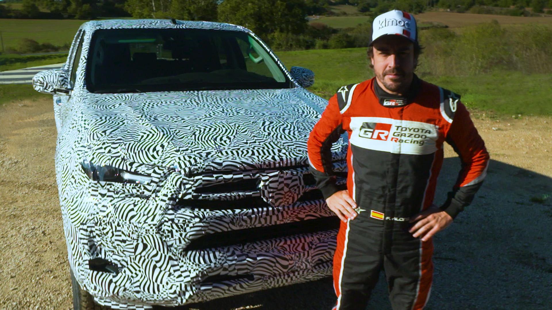 Fernando Alonso najavljuje redizajniranu Toyotu Hilux