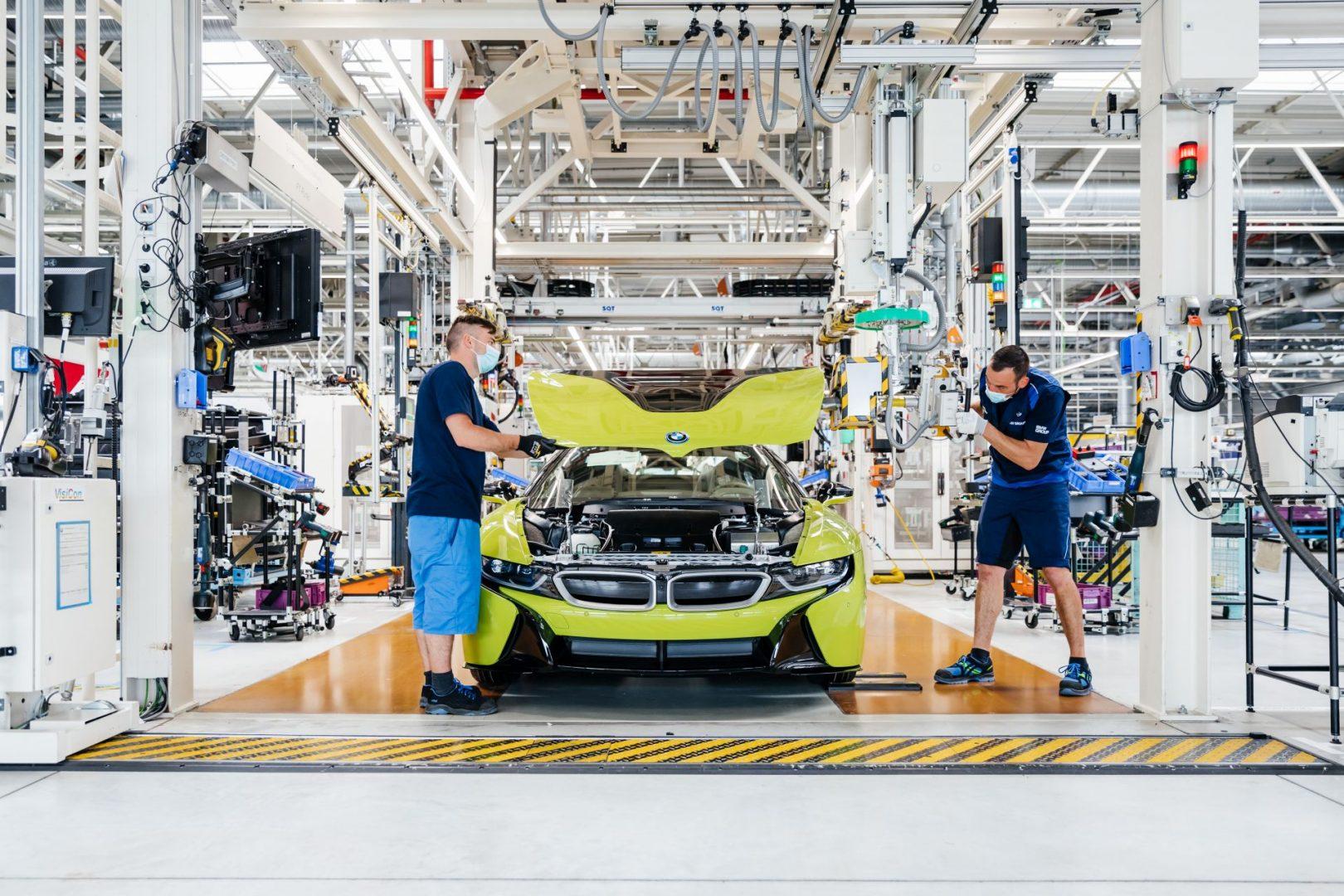 Proizvedeno posljednjih 18 primjeraka modela BMW i8 u tvornici Leipzig