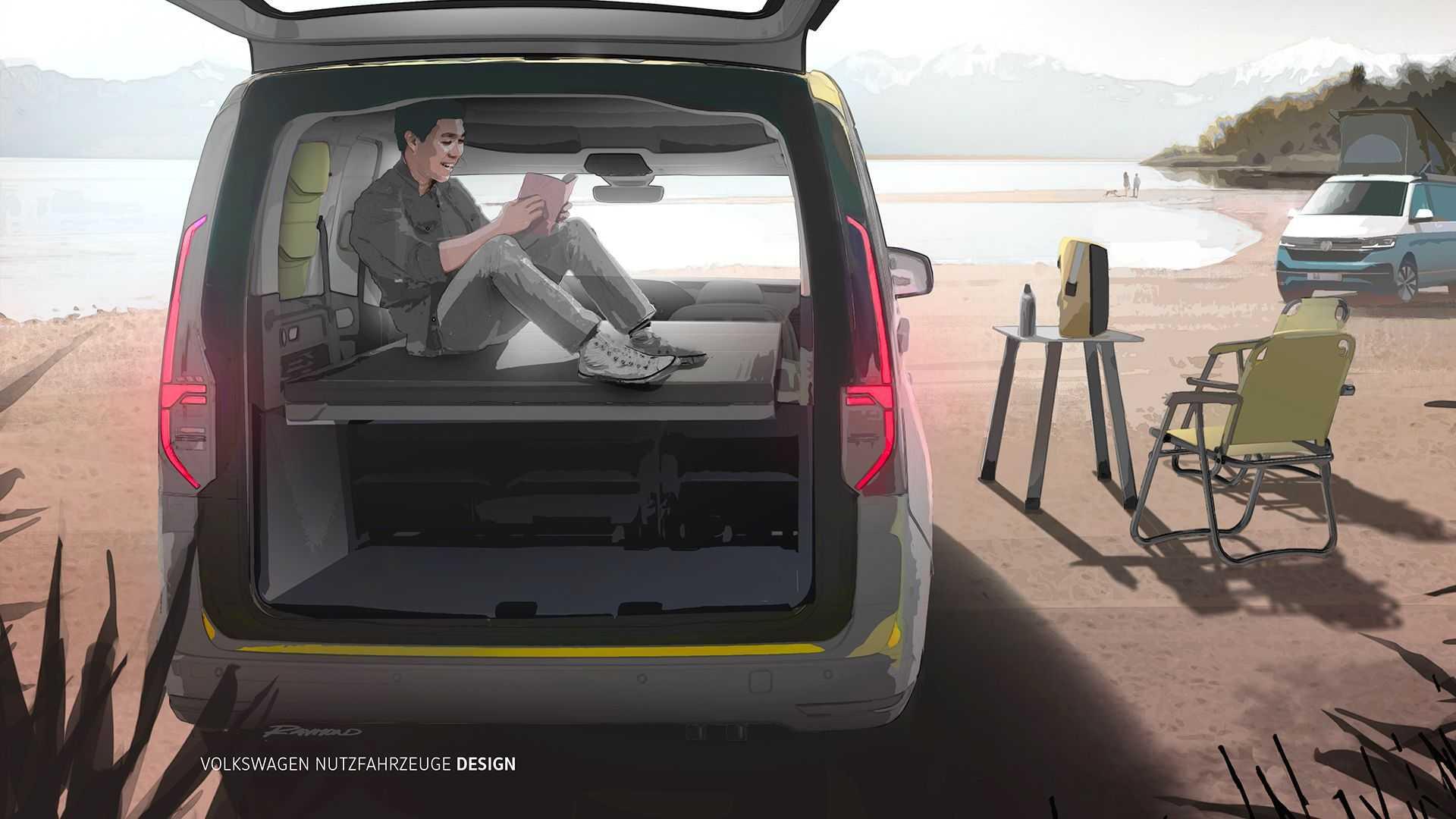 Najavljen je potpuno novi Volkswagen Caddy Mini-Camper, a dolazi već na jesen